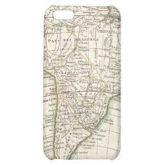 Vintage Map of South America (1762) iPhone 5C Cover