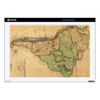 """Vintage Map of South America (1821) Skin For 17"""" Laptop"""