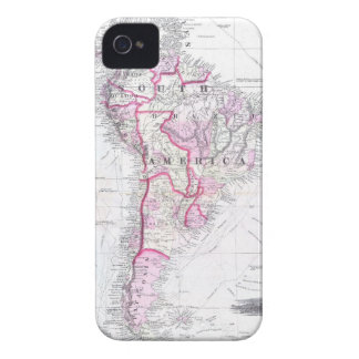 Vintage Map of South America (1861) Case-Mate iPhone 4 Case