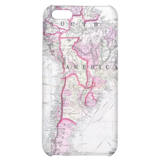 Vintage Map of South America (1861) iPhone 5C Cover