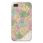 Vintage Map of South Carolina (1827) iPhone 4/4S Case