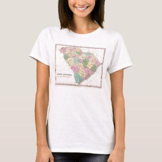 Vintage Map of South Carolina (1827) T-Shirt