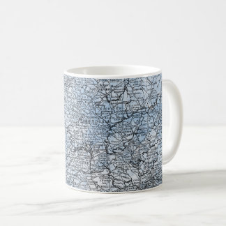 Vintage Map of South England & Wales Travel Gift Coffee Mug
