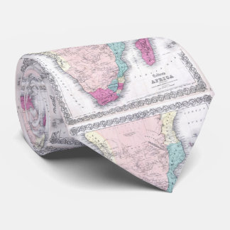 Vintage Map of Southern Africa (1855) Tie