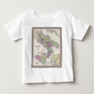 Vintage Map of Southern Italy (1853) Baby T-Shirt
