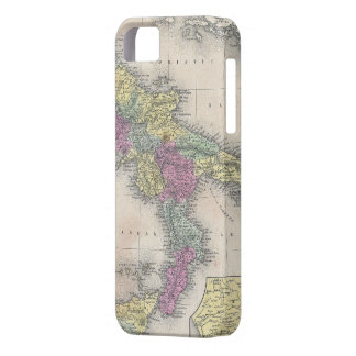 Vintage Map of Southern Italy (1853) iPhone SE/5/5s Case