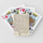 Vintage Map of Spain (1775) Bicycle Playing Cards