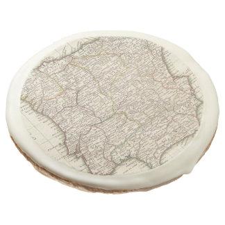 Vintage Map of Spain (1775) Sugar Cookie