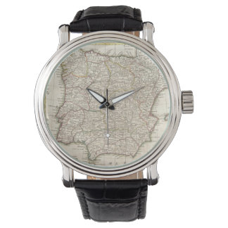 Vintage Map of Spain (1775) Watches