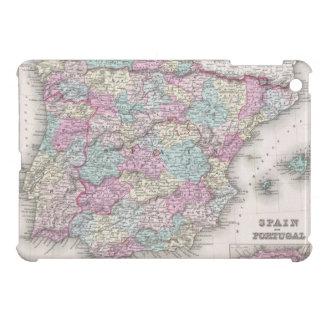 Vintage Map of Spain (1855) iPad Mini Case