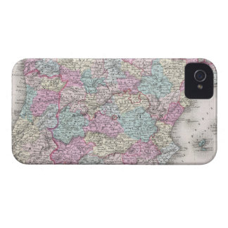 Vintage Map of Spain (1855) iPhone 4 Case