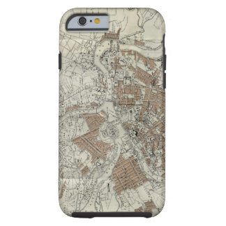Vintage Map of St Petersburg (1893) Tough iPhone 6 Case