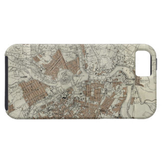 Vintage Map of St Petersburg (1893) iPhone SE/5/5s Case
