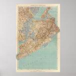 Vintage Map of Staten Island (1891) Poster