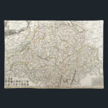 """Vintage Map of Switzerland (1771) Placemat<br><div class=""""desc"""">This is a vintage map of Switzerland produced in 1771.</div>"""