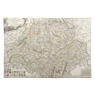Vintage Map of Switzerland (1771) Placemat