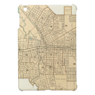 Vintage Map of Syracuse New York (1895) Case For The iPad Mini
