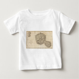 Vintage Map of Tahiti (1773) Baby T-Shirt