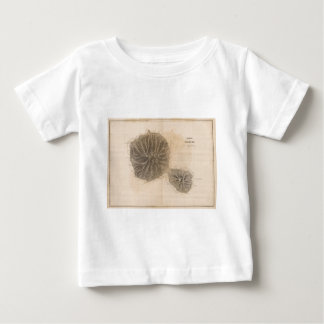 Vintage Map of Tahiti (1845) Baby T-Shirt