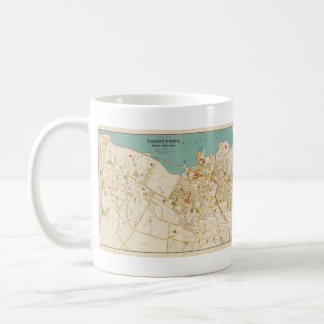 Vintage Map of Tarrytown New York (1893) Coffee Mug