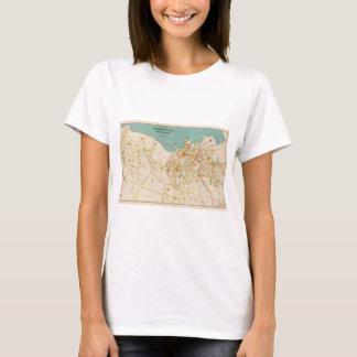 Vintage Map of Tarrytown New York (1893) T-Shirt