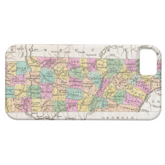 Vintage Map of Tennessee (1827) iPhone SE/5/5s Case