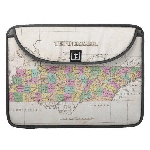 Vintage Map of Tennessee (1827) MacBook Pro Sleeves