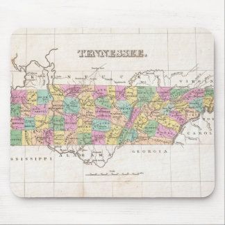 Vintage Map of Tennessee (1827) Mouse Pad