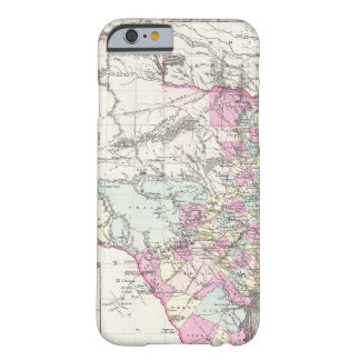 Vintage Map of Texas (1855) Barely There iPhone 6 Case