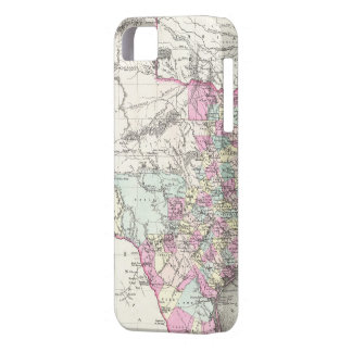 Vintage Map of Texas (1855) iPhone SE/5/5s Case