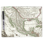 Vintage Map of Texas and Mexico Territories (1810) Dry-Erase Board