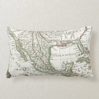 Vintage Map of Texas and Mexico Territories (1810) Pillow