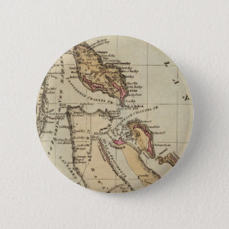 Vintage Map of The Bahamas (1823) Button