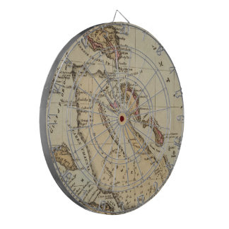 Vintage Map of The Bahamas (1823) Dartboard