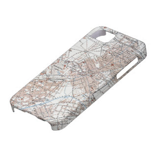Vintage Map of The Berlin Germany Suburbs (1914) iPhone 5 Case