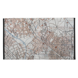 Vintage Map of The Berlin Germany Suburbs (1914) iPad Case