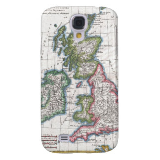 Vintage Map of The British Isles (1780) Galaxy S4 Cover