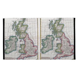 Vintage Map of The British Isles (1780) iPad Cases