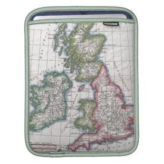 Vintage Map of The British Isles (1780) iPad Sleeves