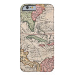 Vintage Map of The Caribbean (1732) Barely There iPhone 6 Case