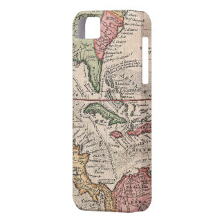 Vintage Map of The Caribbean (1732) iPhone SE/5/5s Case
