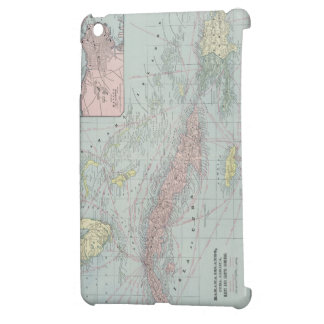Vintage Map of The Caribbean (1901) iPad Mini Case