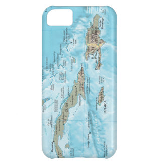 Vintage Map of the Caribbean - U.S. Cover For iPhone 5C