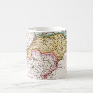 Vintage Map of The Carolinas (1780) Coffee Mug