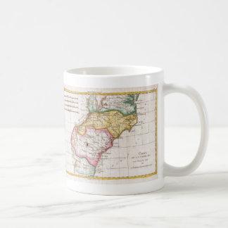 Vintage Map of The Carolinas (1780) Mugs