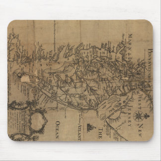 Vintage Map of The Chesapeake Bay (1778) Mouse Pad