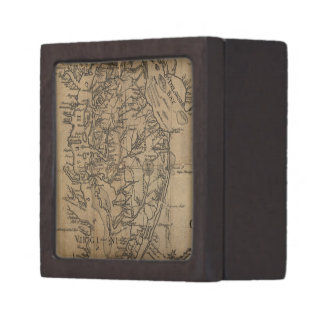 Vintage Map of The Chesapeake Bay (1778) Premium Gift Box