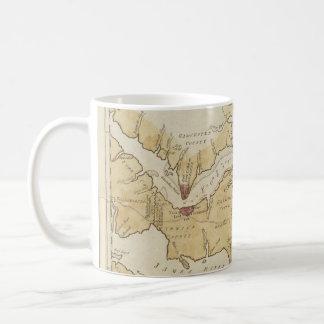 Vintage Map of The Chesapeake Bay (1781) Coffee Mug