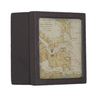 Vintage Map of The Chesapeake Bay (1781) Premium Gift Box