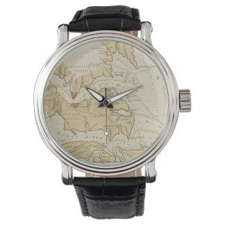 Vintage Map of The Chesapeake Bay (1781) Wrist Watch